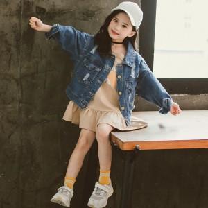 Куртка джинсовая для девочки Букет Berni
