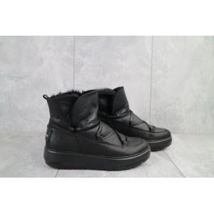 Ботинки женские BENZ 70202 черные (натуральная кожа, зима)