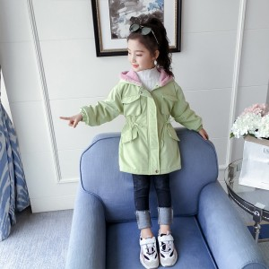 Куртка-парка для девочки демисезонная Fashion Berni