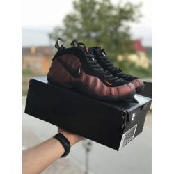 Мужские кроссовки Nike Air Foamposite Pro,черные с медным