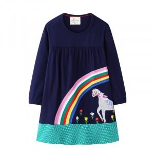 Платье для девочки Радужный сад Jumping Meters