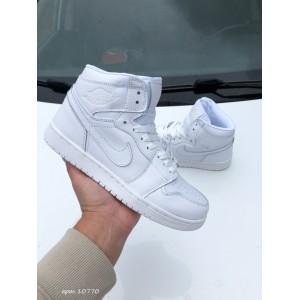 Модные подростковые кроссовки Nike Air Jordan, белые