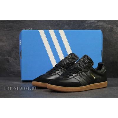 Кроссовки Adidas Samba,черные 44,45р