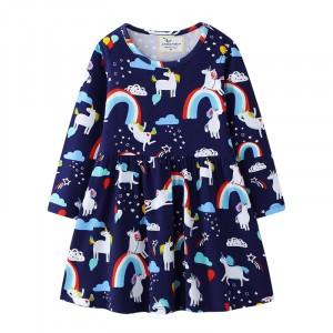 Платье для девочки Радостные Единороги Jumping Meters