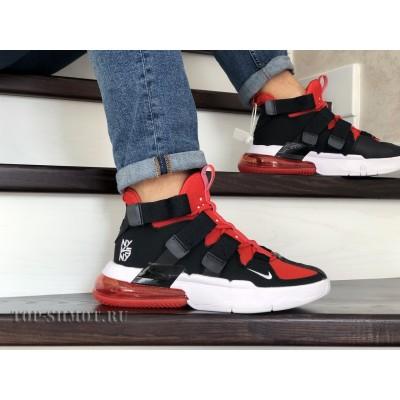 Модные мужские кроссовки Nike Air Force 270,черные с красным