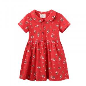 Плаття для дівчинки Red flowers Jumping Meters