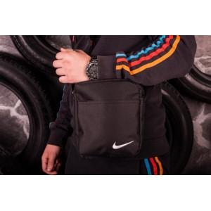 Мужская барсетка Nike ( черная )