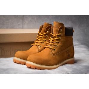 Зимние женские ботинки 30661, Timberland 6 Premium Boot, рыжие ( размер 37 - 24,5см )