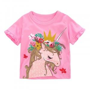 Футболка для дівчинки Beautiful unicorn Little Maven