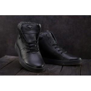 Ботинки Milord Olimp B (зима, мужские, натуральная кожа, черный)