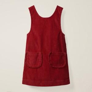 Сарафан для девочки Рюши, красный Little Maven