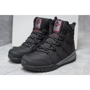 Зимние ботинки Columbia Waterproof, черные (30171) размеры в наличии ► [ 46 (последняя пара) ]