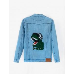Джинсовая куртка Staff long Dino