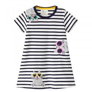 Плаття для дівчинки Three cats Jumping Meters