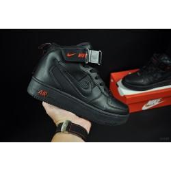 кросівки термо Nike Air Force арт 21028 (форси, найк)