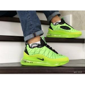 Мужские термо кроссовки Nike air max 720,салатовые