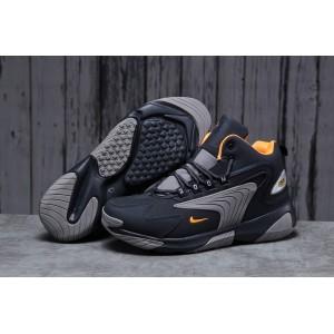 Зимние мужские кроссовки 31642, Nike Zm Air, темно-синие, < 41 42 43 44 45 46 > р. 44-27,8см.