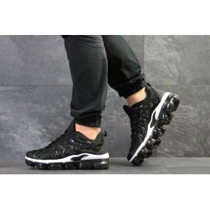 Мужские кроссовки Nike Air Vapormax Plus,черно-белые