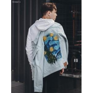 Джинсовая куртка Staff wist Van Gogh