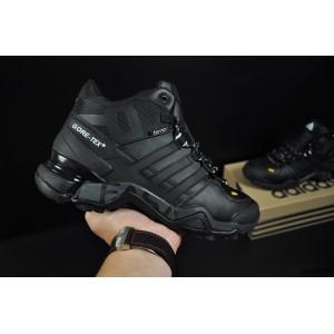 ботинки Adidas Terrex 465 арт 20873 (зимние, мужские, черные)