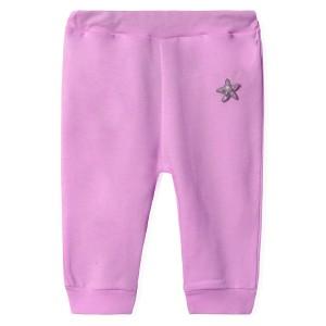 Штаны для девочки Полярная звезда, фиолетовый Twetoon