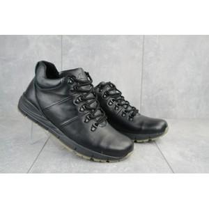 Ботинки мужские Yuves Obr 8 черные (натуральная кожа, зима)