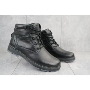 Ботинки мужские Yuves Obr 5 черные (натуральная кожа, зима)