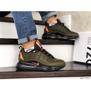 Мужские термо кроссовки Nike air max 720,темно зеленые