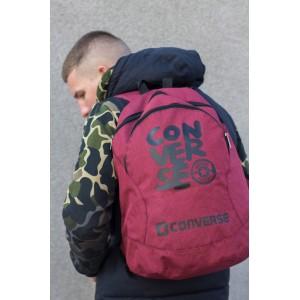 Рюкзак Конверс, Converse, Мужской, Женский Красный