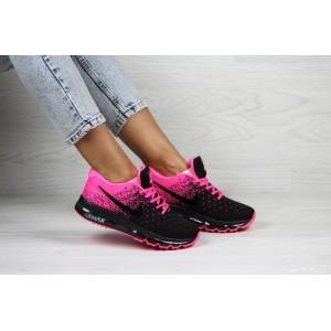 Женские кроссовки Nike air max 2017,малиновые с черным