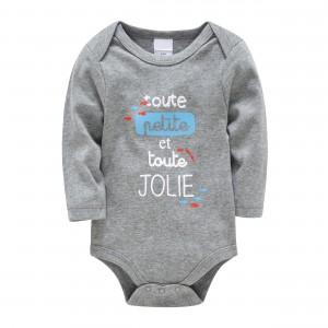 Боди детский Джоли, серый Berni