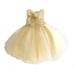 Платье для девочки Золотой павлин Zoe Flower
