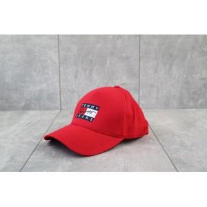 Кепка бейсболка Tommy Hilfiger (красный)