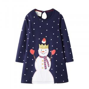 Платье для девочки Снеговичок Jumping Meters