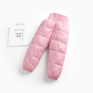 Демисезонные штаны для девочки, розовый Berni