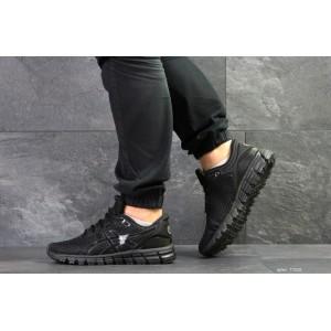 Мужские кроссовки Asics Gel-Quantum 360 ,сетка,черные