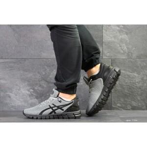 Мужские кроссовки Asics,сетка,серый