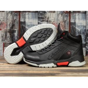 Зимние мужские ботинки 31201, Columbia Snow Motion, черные ( размер 45 - 29,5см )