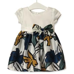 Платье для девочки Листочек, зеленый Zoe Flower