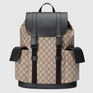 Gucci Soft GG Supreme Backpack Beige/Ebony