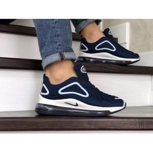 Мужские кроссовки Nike air max 720,темно синие с белым