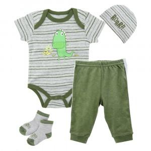 Комплект для мальчика 4 в 1 Динозаврик Roar Berni