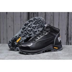 Зимние мужские кроссовки 31672, Puma G-Step, черные, [ 44 ] р. 44-29,5см.