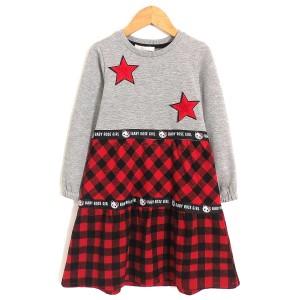Платье для девочки Красная клетка Baby Rose