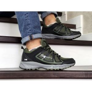 Мужские кроссовки Columbia Montrail,темно зеленые