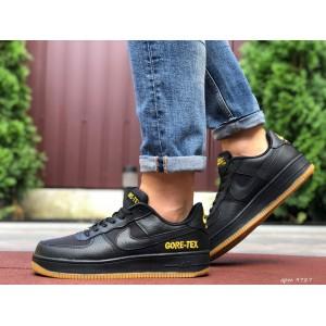 Активные мужские кроссовки Nike Air Force Gore-Tex,черные