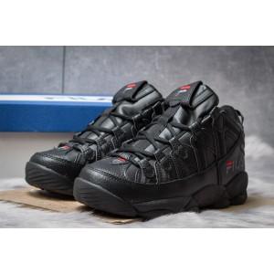 Зимние мужские кроссовки 30461, Fila Spaghetti, черные ( размер 42 - 26,5см )