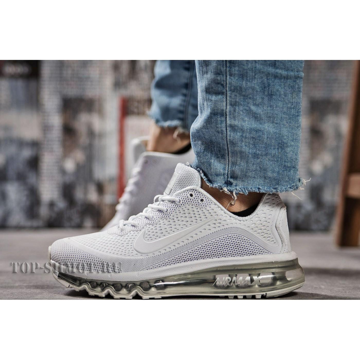 d0167cf1 Кроссовки женские Nike Air Max, белые (15503) размеры в наличии ▻ [ 37