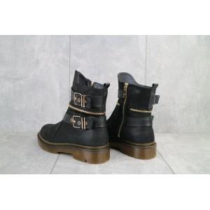 Ботинки женские BENZ 71010 черные (натуральная кожа, зима)