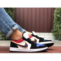 Мужские демисезонные кроссовки Nike Air Jordan 1 Retro,разноцветные